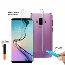 Samsung S10 S10 plus Full Glue UV Curved Liquid Tempered Glass Screen Protector