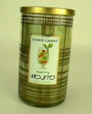 YANKEE CANDLE Merry Mojito Candle 12 oz Medium Jar Cocktails NEW