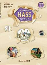 Targeting Hass Student Work Book Year 5 by Merryn Whitfield (Paperback, 2020)