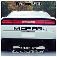1950-2017 Dodge Mopar Challenger Bumper Decal New 1PC 10 Colors Hellcat Ram SRT8