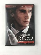 American Psycho Dvd 2005 Unrated Christian Bale Horror Fast Free Shipping