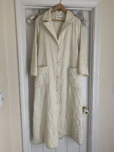 Quilted MOD Vintage Coat Dress