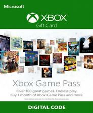 Xbox Game Pass 1 mese XBOX ONE TRIAL Oltre 100 giochi!!