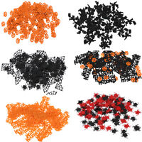 Halloween Pumpkin Spider Table Confetti Sprinkles Scatters Decor