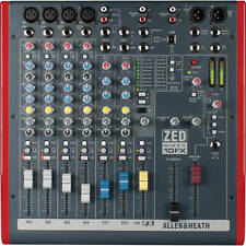 Allen & Heath Zed60-10Fx mint Live Sound Professional 6-Channel Mixer w/ Effects