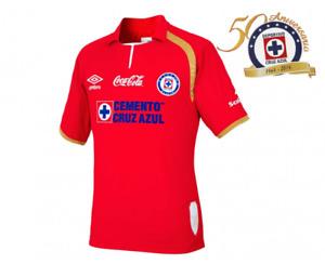 CRUZ AZUL 50 Aniversario Liga MX UMBRO Jersey RED