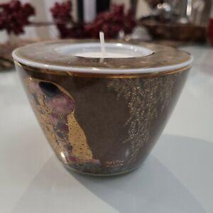 Gustav Klimt Geobel Tea Light candle Holder