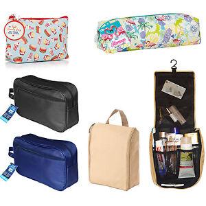 TOILETRY BAG WASH BAG TRAVEL BAG GROOMING BAG COSMETIC BAG MAKE-UP PENCIL CASE