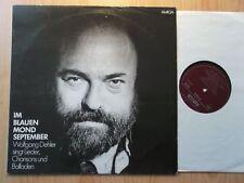 WOLFGANG DEHLER DDR AMIGA LP: IM BLAUEN MOND SEPTEMBER/CHANSONS (845212)
