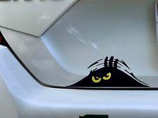 Funny Peeking Monster Decal Sticker Computer Truck Car