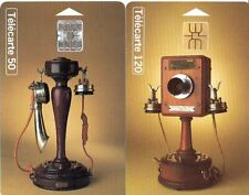 France Telecom 2x Phonecards (Used) - Historic Telephones