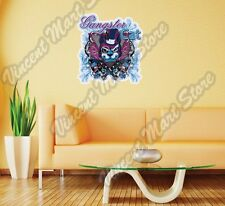"Gangster Cat Criminal Gang Crime Gift Wall Sticker Room Interior Decor 20""X25"""