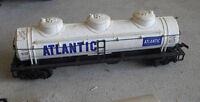 Vintage HO Scale AHM OK Atlantic Tank Car