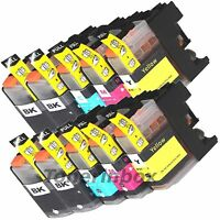 10 Brother LC203 XL LC201 Compatible Ink For MFC-J4320W MFC-J4420DW MFC-J4620D