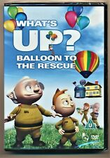 What's Up Balloon To The Rescue DVD New and Sealed