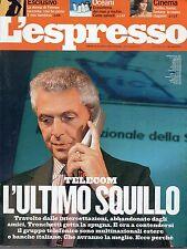 L'Espresso.Marco Tronchetti Provera,Robert De Niro,Aishwarya Rai,Damien Hirst,ii
