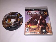 Uncharted 3: Drake's Deception (Playstation PS3) Original Game in Case Nr Mint!