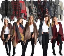 Cappotti e giacche da donna poncho nessuna casual