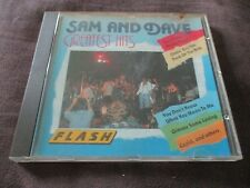"""CD """"SAM AND & DAVE - GREATEST HITS"""" best of / FLASH"""