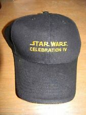 Star Wars Celebration IV- Hard-To-Find NEW cap/hat- dated on back-Star Wars- HTF