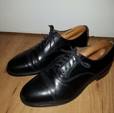 LOAKE MENS BLACK LEATHER SHOES - 200B - SIZE 7