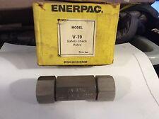 ENERPAC V19 04690C CHECK VALVE V1904630C