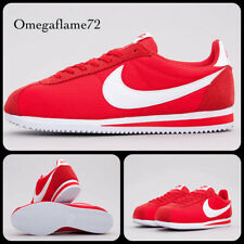 Nike Classic Cortez Nylon, Sz UK 10.5, EU 45.5, US 11.5, 807472-604, Red & White