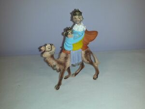 King Riding Camel Christmas Decoration Plastic Ornament Figurine
