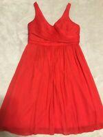 Women JCrew 100% Silk dress size 12