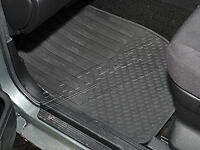 Land Rover Freelander 1 Black  Front  Floor Rubber Mats Set Pair  DA4428
