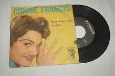 CONNIE FRANCIS Many Tears Ago / No One 1960 VYNIL 45 RPM K2020