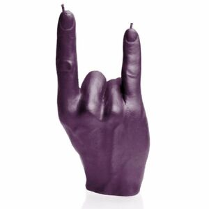 Hand RCK Rock Gesture Devil Horns Candle - 23 Colours Home Decor Candle Gift