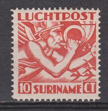Luchtpost LP 1 MLH ong Suriname 1930 Mercuriuskop airmail luchtpostzegel