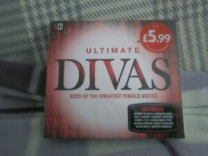 Ultimate... Divas 4xCD Various Artists (2015) - UK seller - Free UK Postage