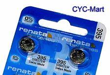2 pcs Renata 395 SR927SW Swiss Made Silver Oxide Battery, Livraison gratuite