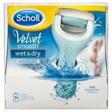 Scholl Velvet Smooth Wet & Dry Rechargeable Foot File 2 X Refill 2pk