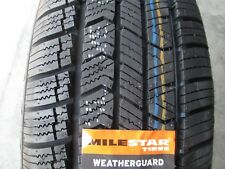 4 New 22550r17 Milestar Weatherguard Tires 2255017 50 17 R17 All Season Winter Fits 22550r17
