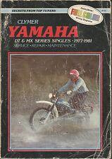 CLYMER YAMAHA DT &MX SERIES SINGLES 1977-1981