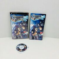 Phantasy Star Portable Sony PSP Video Game Complete