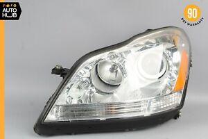 07-12 Mercedes X164 GL550 GL450 Left Driver Side Headlight Lamp Halogen OEM