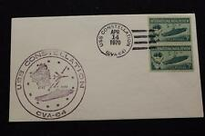 NAVAL COVER 1970 SHIP CANCEL SHIP'S CACHET USS CONSTELLATION (CVA-64) (825)