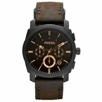 Fossil Machine Brown Dial Men's Watch FS4656
