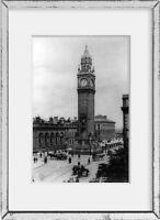 1890 Photo Albert Memorial Clock Tower, Belfast, Ireland Location: Belfast, Nort