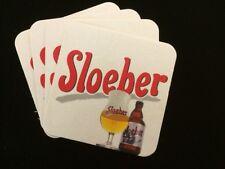 4 Belgian Sloeber Beermats / Coasters (COLLECTABLE)