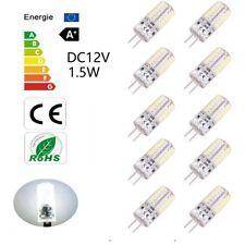 10er 12V/1.5W G4 LED Leuchtmittel Lampe Stiftsockel Birne weiß Kaltweiß