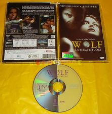 WOLF LA BELVA E' FUORI - (J. Nicholson, M. Pfeiffer) - Dvd Jewel Box ○○○○○ USATO
