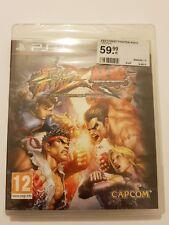 Street Fighter x Tekken PlayStation 3 ps3 pal España Nuevo y Sellado de Fabrica