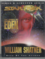Star Trek The Ashes Of Eden William Shatner 2 Cassette Audio Book Abridged