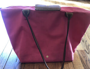 "LONGCHAMP LE PILAGE ""Shopping"" Pink Large"