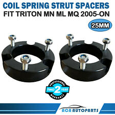 25mm Front Coil Strut Shock Spacer Lift Kit For Mitsubishi Triton MN ML MQ 05-ON